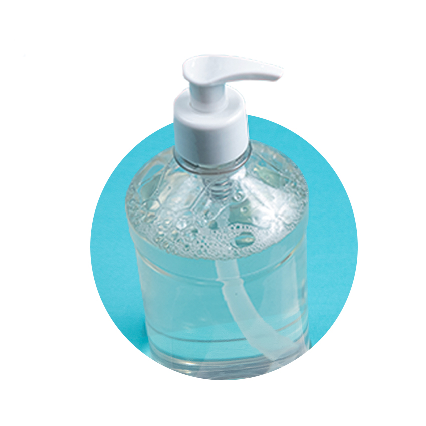 gel hidroalcoholico - 300 ml.